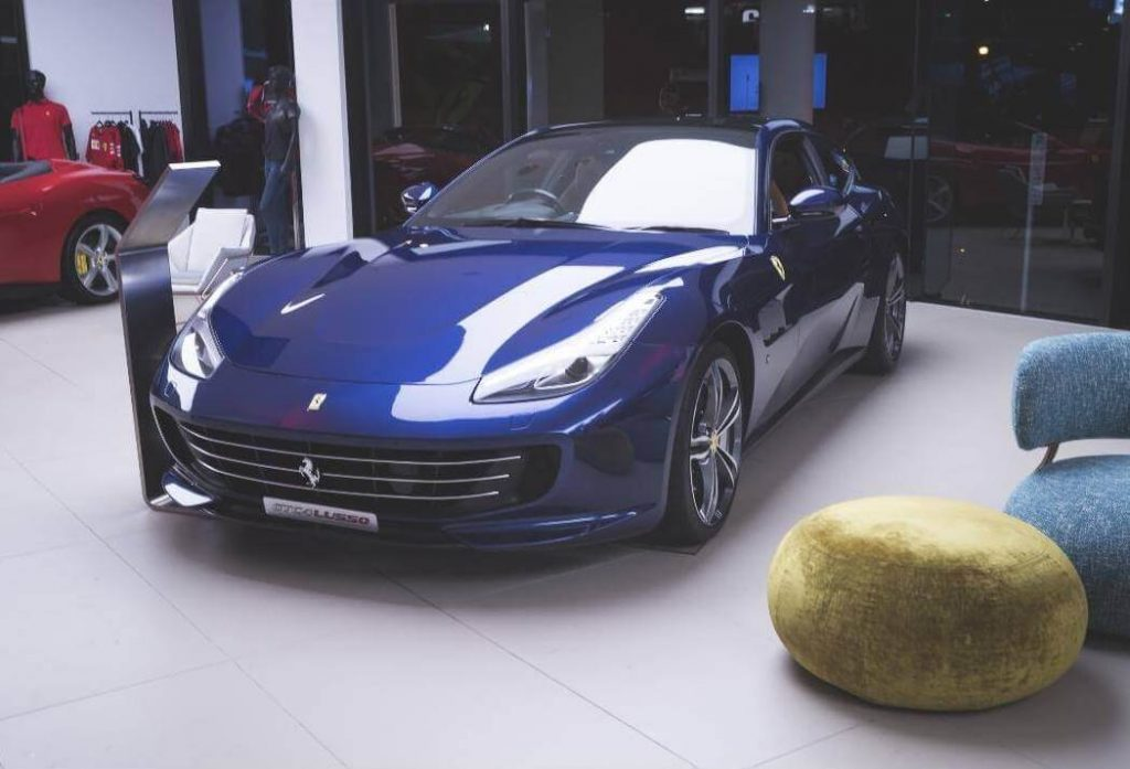 IBWN-Launch-Blue-Ferrari